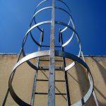 Prüfung von Leitern und Tritten